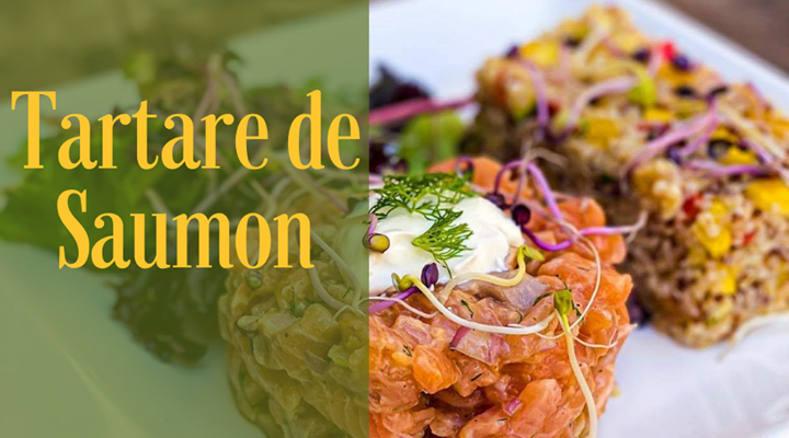 Le Tartare Mangue Saumon